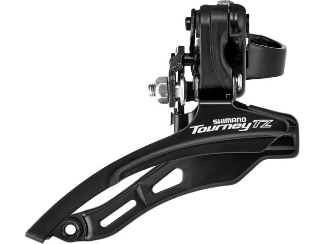 Shimano Tourney TZ FD-TZ500 Voorderailleur 3x6/7-speed Down Swing Klem laag zwart